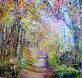 Autumn Wander - acrylic