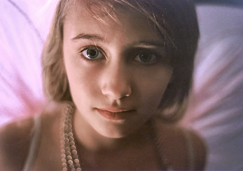 Josie as a fairy