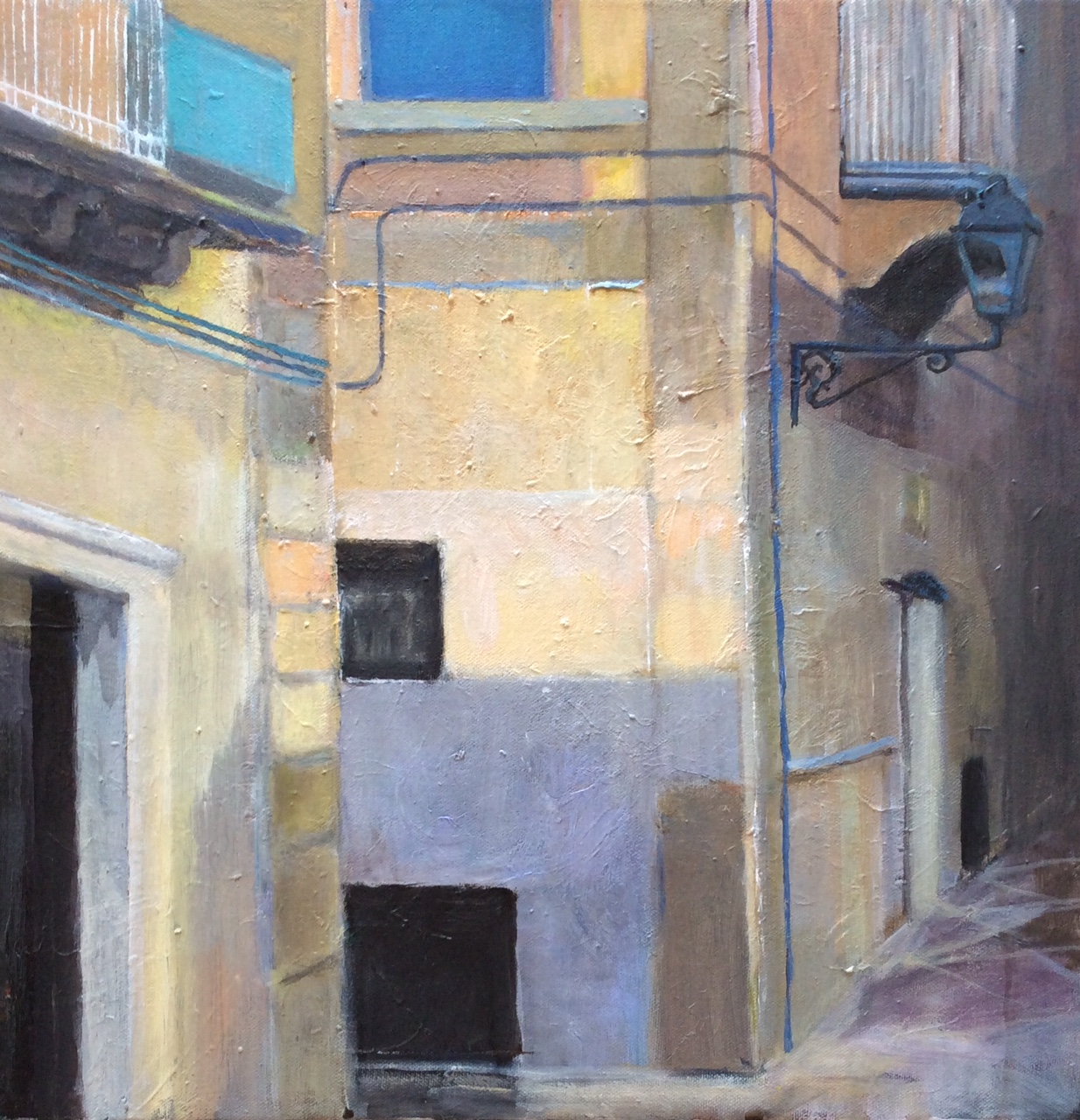 Unexpected Corner, Siracusa, Sicily - acrylic on canvas