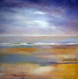 Norfolk tide - acrylic