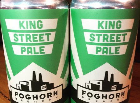 Foghorn Brewery Can King Street Pale