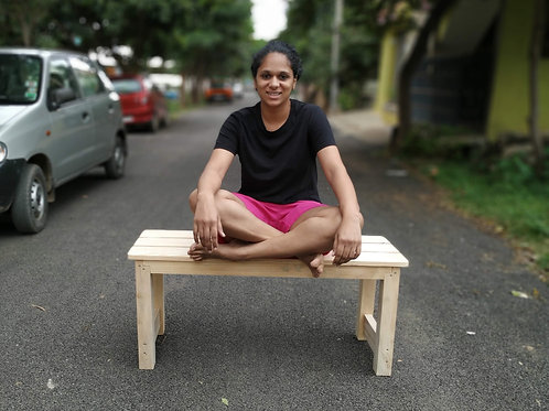 Classic Wooden Bench - Natural Look