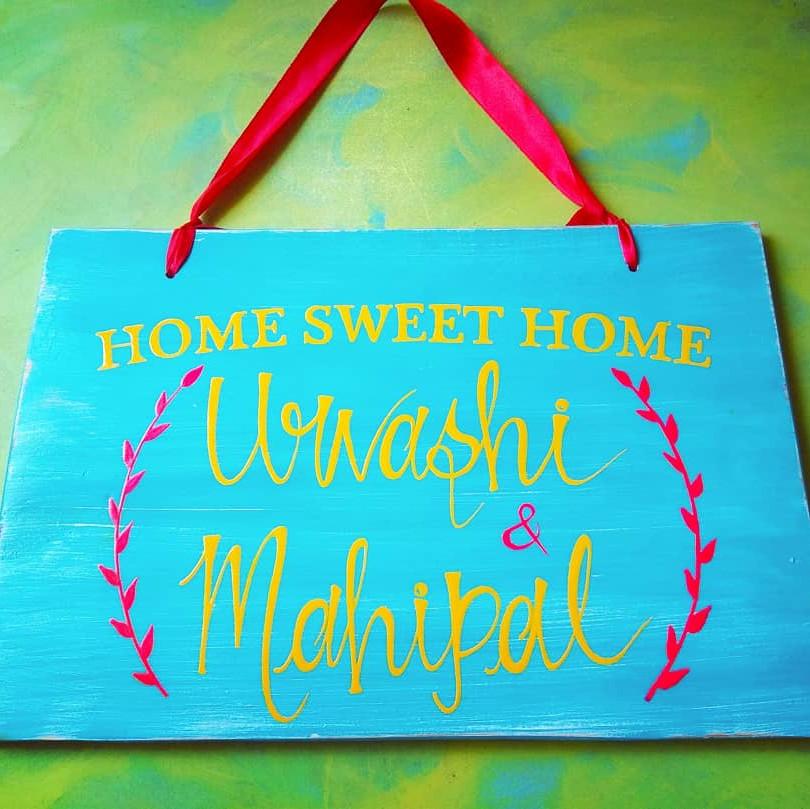 Name Board - Home Sweet Home