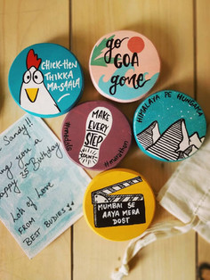 Customized Wooden Magnets