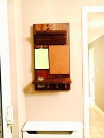 Custom made Wooden Organiser