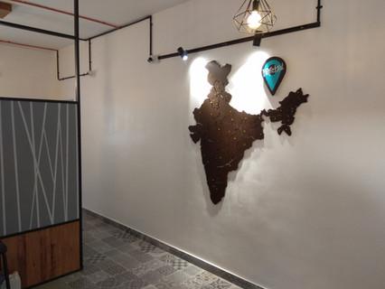 India map cutouts