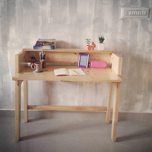 Minimalistic Wooden Study Table