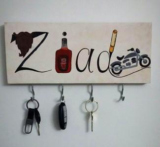 Customised Wooden Key Holder