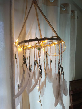 Dream Catcher with fairy lights