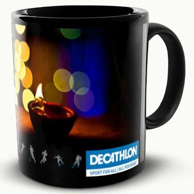 Custom made mugs for Decathlon