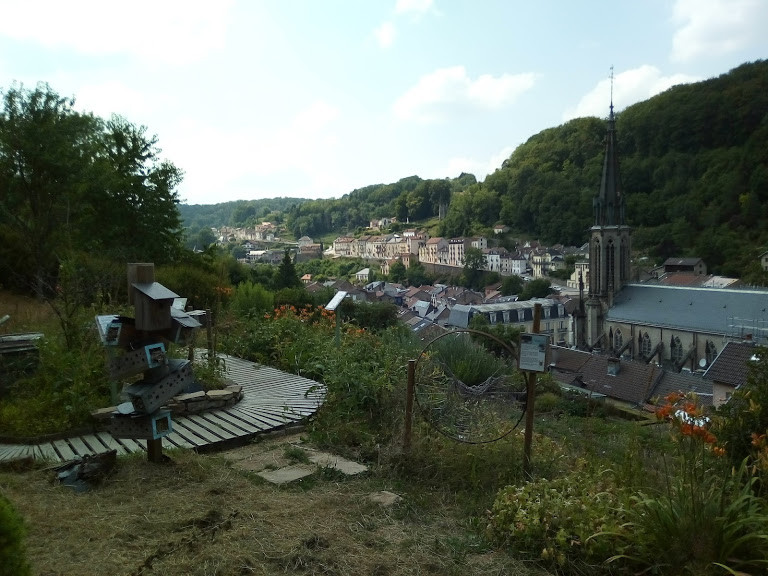 Les jardins terrasse (à 18km)