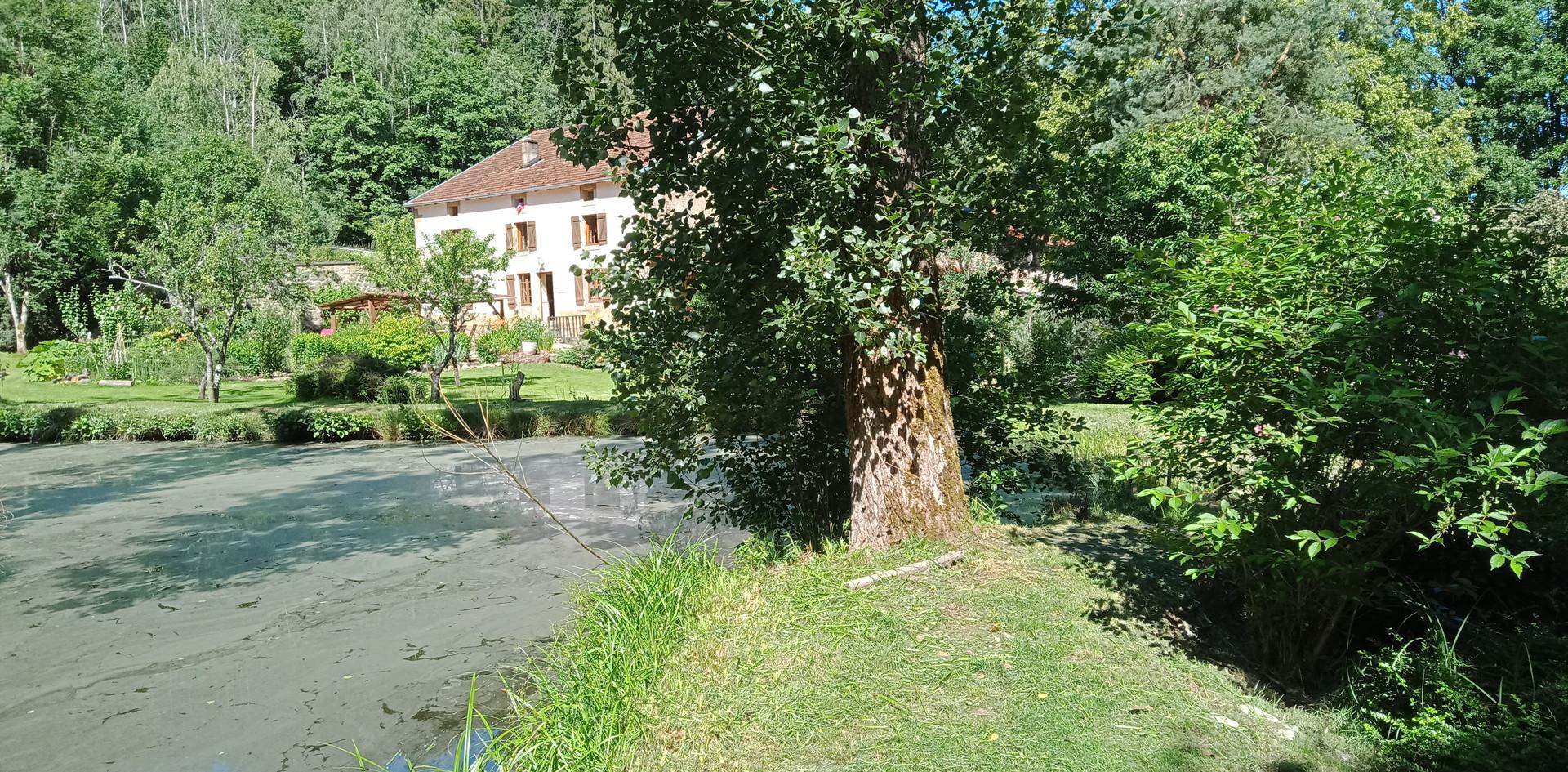 L'étang de la charmante