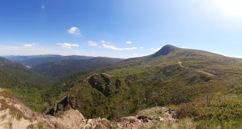 Les Hautes Vosges sommet du Rainkoft (45km)