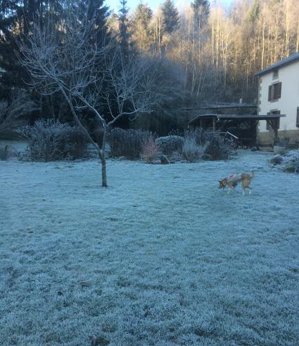 La Charmante en hiver