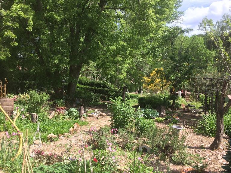 Le jardin zen de la Charmante