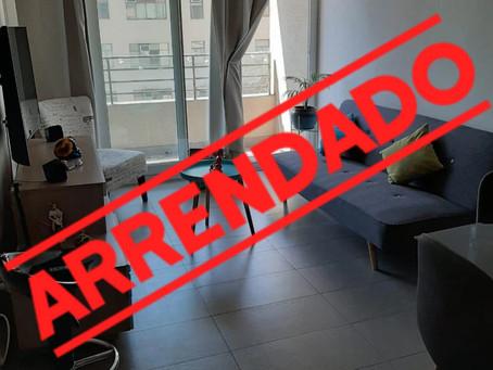 Se arrienda departamento en Santiago Centro.