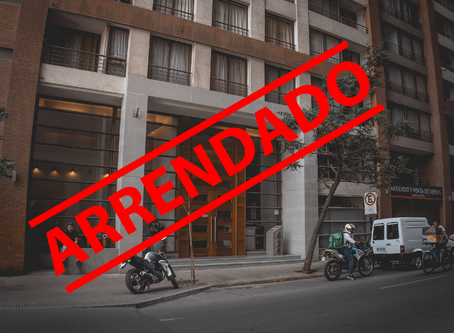 ¡Se arrienda Departamento amoblado en Santiago Centro!