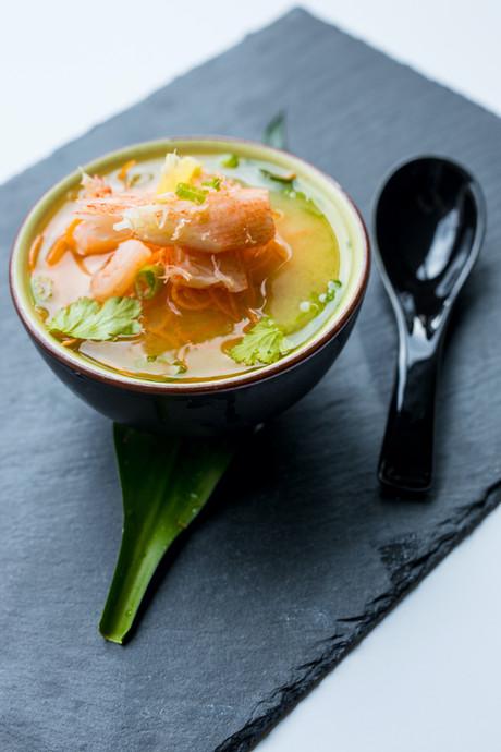 Soupe Miso fruit de mer