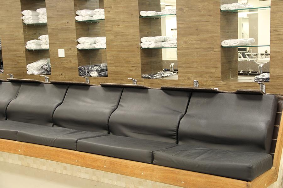 Instalações do Le Salon