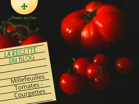 Millefeuille tomate-courgettes