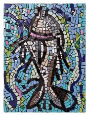 Rbirth (fish) - 54 x 40cm - 2017