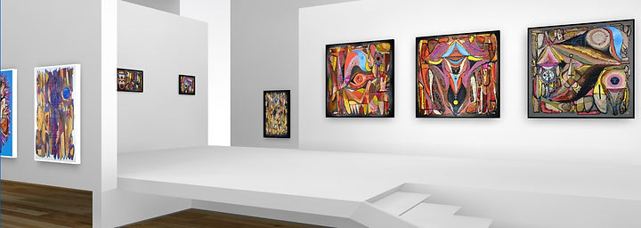 Decolife exhibition, artworks