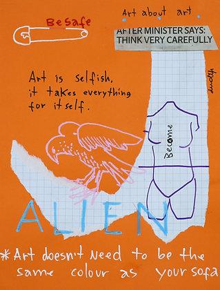 Art takes