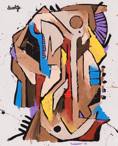 Voices 2 - 51 x 41cm - 2016