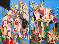 Enoch's experiences - 123 x 166cm (opened) - 2017