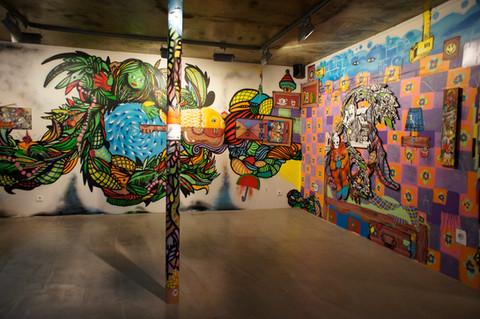 """Mind the Gap"" Istambul-Turkey 2013 at X-ist Gallery"