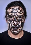 Andre decolife artist photo, body paint