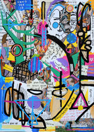 can't see it - 250 x 180 cm - 2020