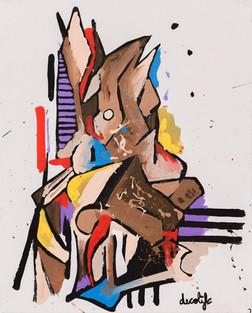 Voices 1 - 51 x 41cm - 2016
