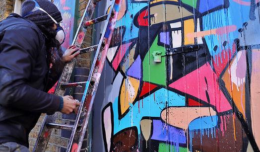 decolife street art, wip, spray paint, graffiti, camden town, shoreditch, brazil sao paulo andre