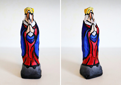 Virgin Queen Praying