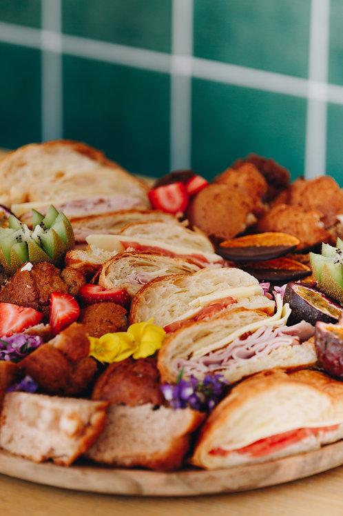 Breakfast platter - Sml $70 Lrg $140