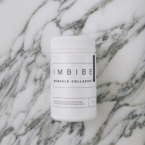 Imbibe collagen powder