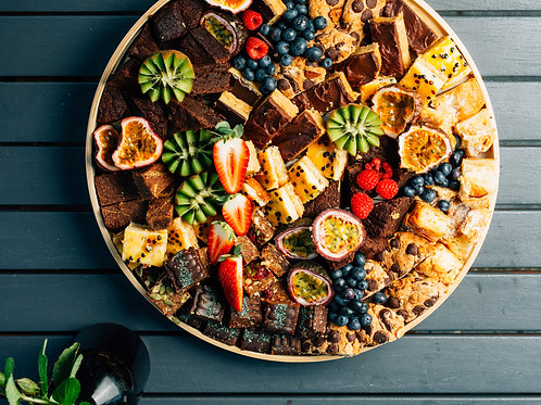 Assorted sweets platter - Sml $70 Lrg $140