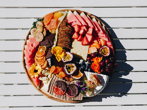 Fruit + cheese platter