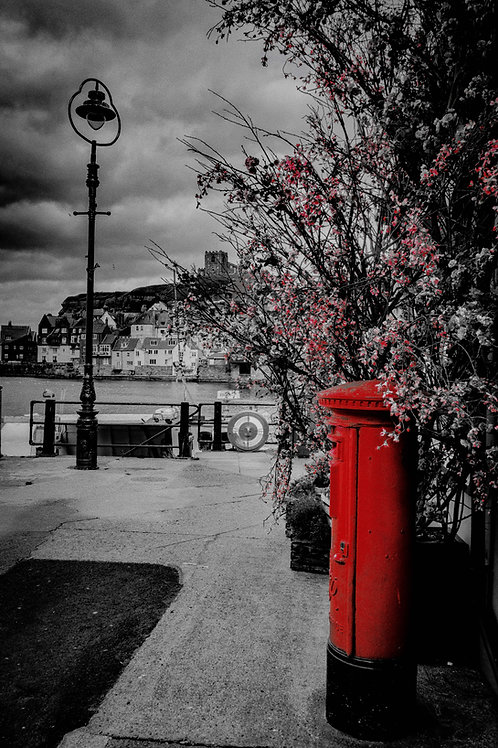 simply red print