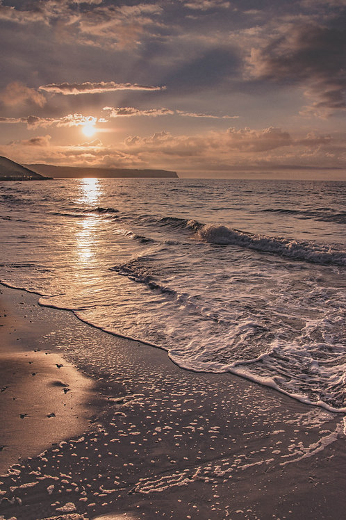 sun set sands CANVAS
