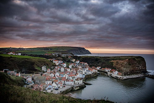 staithes look back print