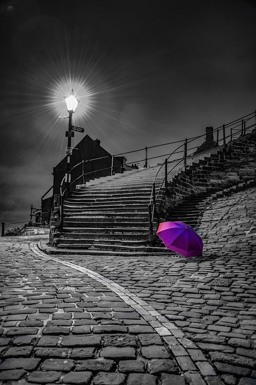 Brolly steps 2 canvas