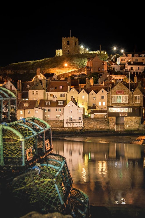 a night in whitby canvas