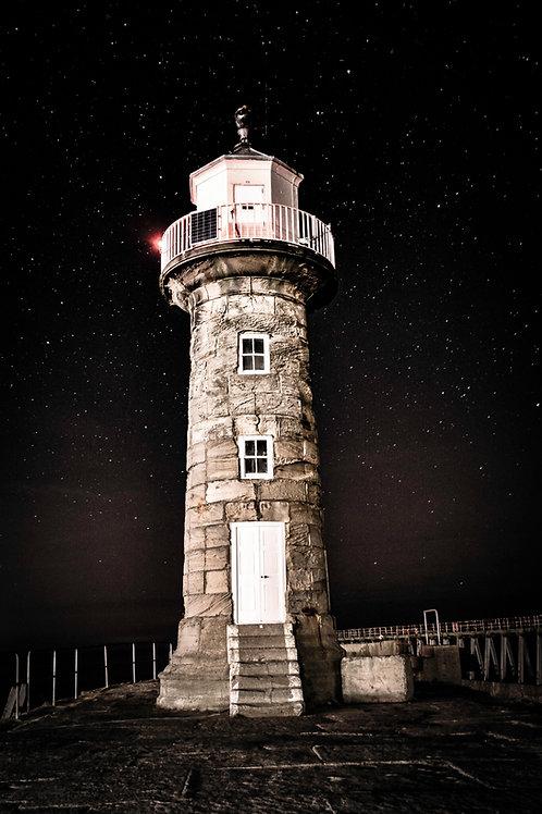 east pier lighthouse print