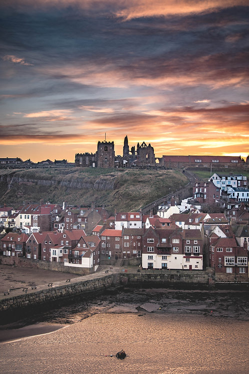 A Whitby morning CANVAS
