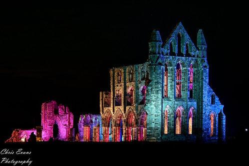illuminated abbey PRINT