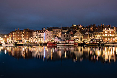 night in whitby canvas
