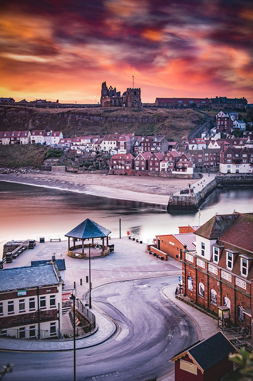 morning whitby print