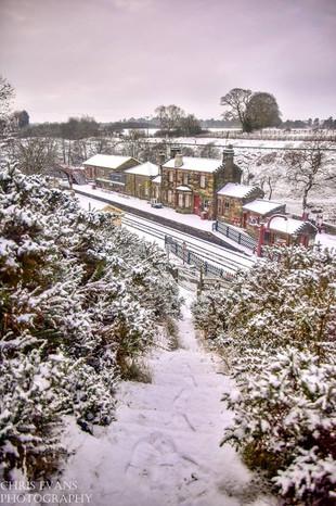 snowy goathland station